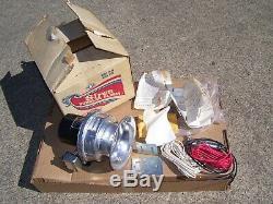 Vintage nos 70's Auto Burglar SIREN alarm kit car service auto gm street rat rod
