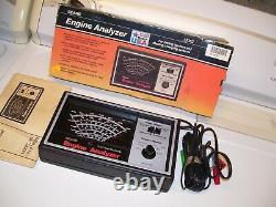 Vintage nos 80s sears Engine tune-up tester meter auto service gm street rat rod