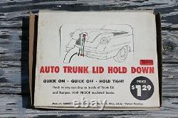 Vintage nos Trunk tie down dealer display tool auto service antique car truck