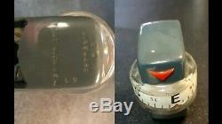Vintage rare DINSMORE automobile gauge compass light original gm street rat rod