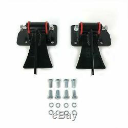 Weld In Motor Mount Set Engine & Frame Brackets For Chevy LS1 LS6 LS-1 LS-6 LSX