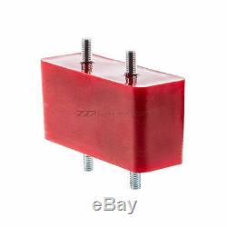 ZZPerformance Red Polyurethane Transmission Mount 1997-2003 3800 W Body vehicles